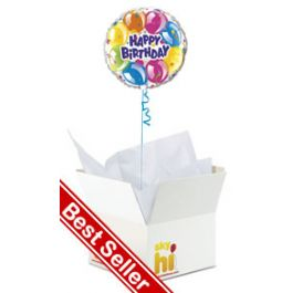 Happy Birthday Balloon In A Box From Aprilflowersie