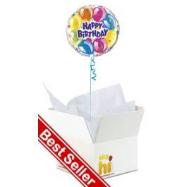 Happy Birthday Balloon In A Box From Aprilflowersie