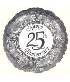 Silver Anniversary (25th) Balloon