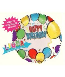Happy Birthday Personalised Balloon