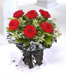 April Red Roses