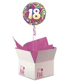 18th Birthday Balloon in a Box