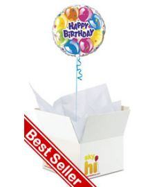 Happy Birthday Balloon in a Box