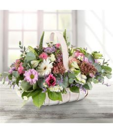 Country Life Flower Basket