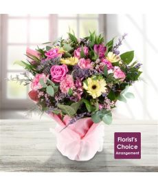 Florist Choice Hand-Tied in Water