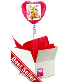 'I Love You' Balloon in a Box