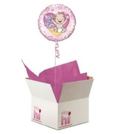 I'm a Girl Balloon in a Box