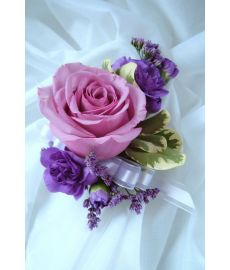 Lavender Corsage